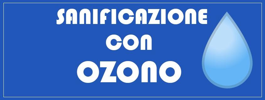 Ozono per igenizzazione