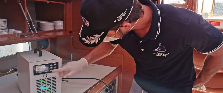 sanificazione - barca