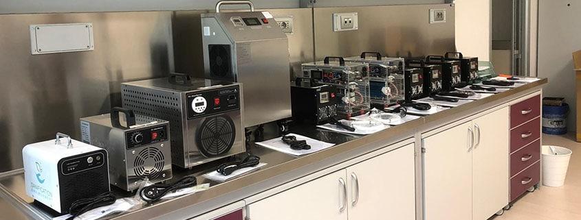 Macchine ozono sanification environment